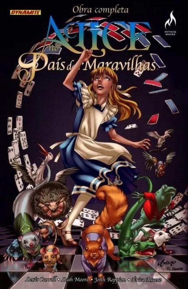 Figura 4 - Alice No País Das Maravilhas Em Quadrinhos - Uma Viagem Alucinante E Fantástica!