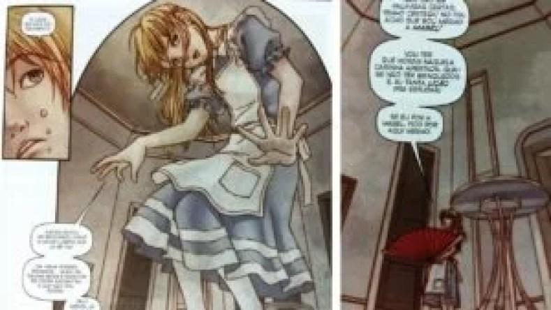 Figura 7 300x169 - Alice No País Das Maravilhas Em Quadrinhos - Uma Viagem Alucinante E Fantástica!