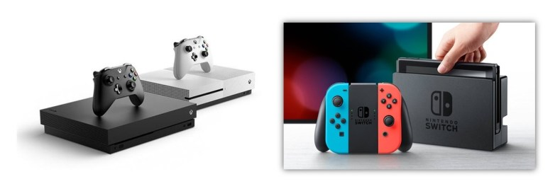 Xbox One E Nintendo Switch - Xbox One E Nintendo Switch: Uma Combinação Que Mescla Diversas Possibilidades
