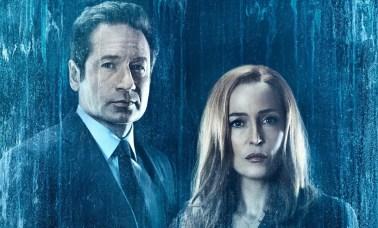 David Duchovny and Gillian Anderson in The X Files Season 11 - O Retorno De Arquivo X Em Sua 11ª Temporada