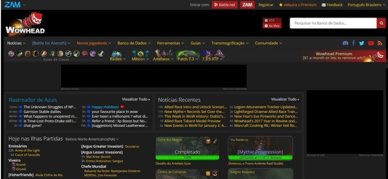 wowhead - O Que Esperar De World Of Warcraft Em 2018?