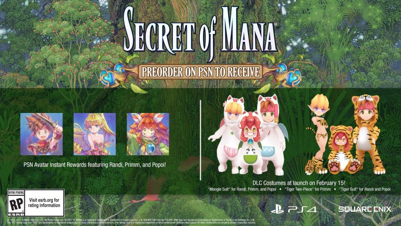 secret of mana remake bonus preorder - Secret Of Mana Remake: O Retorno Do Clássico