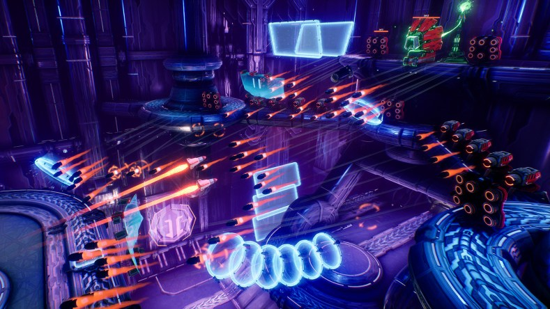 Mothergunship Launch Screenshot 001 - Mothergunship - Um Inferno De Balas