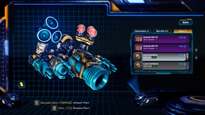Mothergunship Launch Screenshot 009 - Mothergunship - Um Inferno De Balas