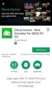gloud games tela 174x300 - Os Emuladores Mais Interessantes Para Android