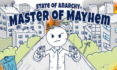 Capa Daigor - State Of Anarchy: Master Of Mayem - Um Caos!