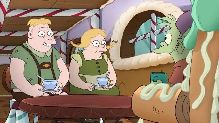Figura 4 Hansel and Gretel - (Des)Encanto: Uma Nova Série A Ser Desvendada