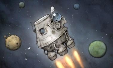 adios amigos - ADIOS Amigos, Uma Aventura Espacial