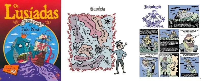 Figura 1 1 - A Literatura Como História Em Quadrinhos