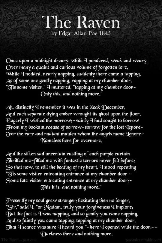 Figura 4 - Grandes Nomes da Literatura: Edgar Allan Poe