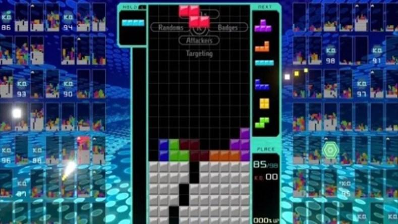 Tetris 99 Figura 2 1 - A Onda Battle Royale Em Tetris 99