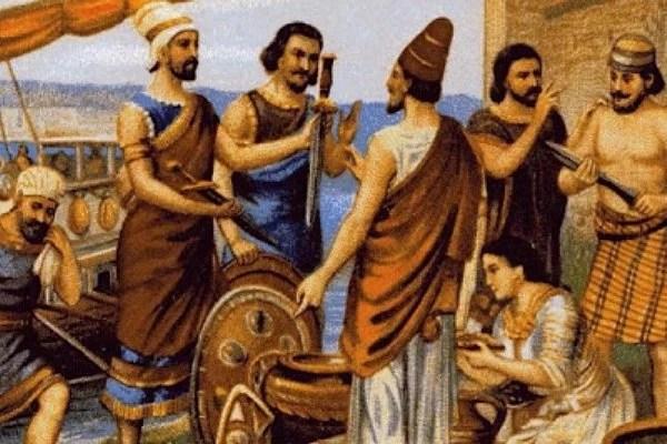Figura 1 - A Herança Fenícia Para O Mundo