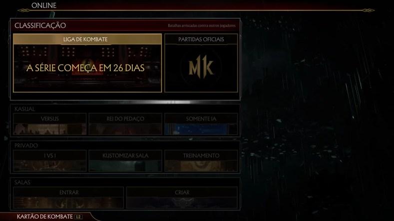 online 1024x576 - Mortal Kombat 11: Análise