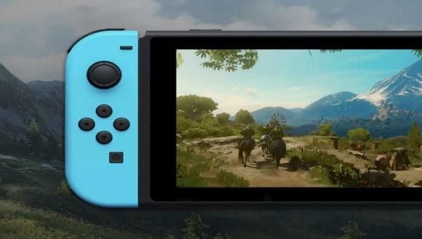 The Witcher 3 Capa Ajustada - The Witcher 3 No Nintendo Switch