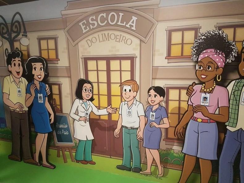Escola do Limoeiro 1024x768 - Uma viagem ao Tempo com a Turma da Mônica