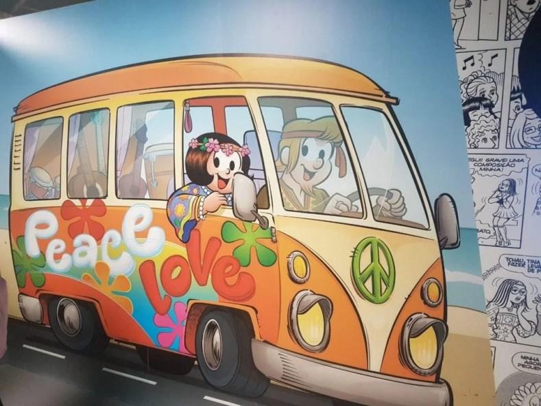 Pipa e Zecão Hippie 1024x768 - Uma viagem ao Tempo com a Turma da Mônica