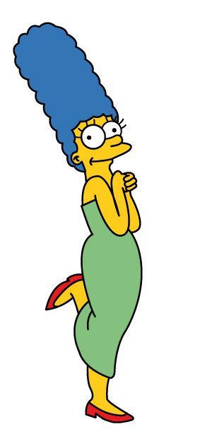 Marge Simpson - Mães do Cinema e das Animações