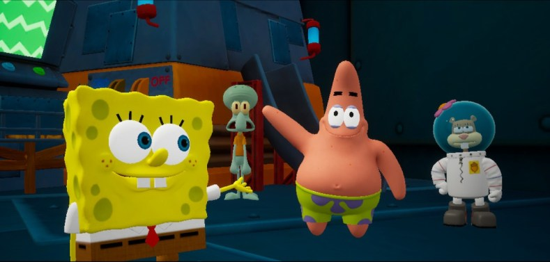 Bob Esponja 6 1 1024x489 - Uma Experiência com SpongeBob SquarePants:  Battle for Bikini Bottom - Rehydrated