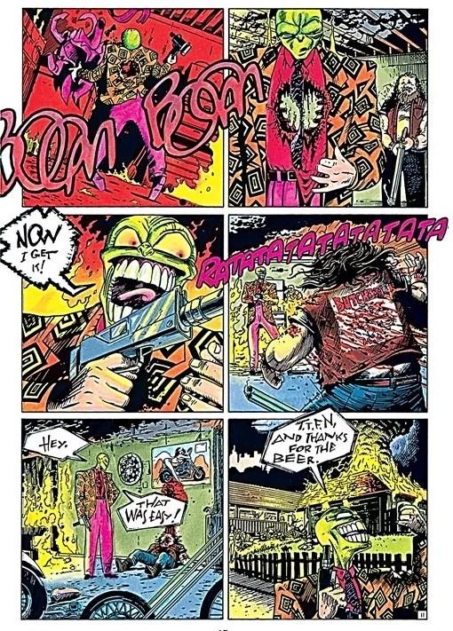 The Mask imagem 4 - The Mask Omnibus, Uma Versão Do Máscara Que Marcou Parte Da Sociedade Americana