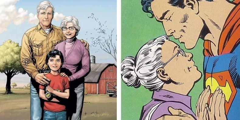 Martha Kent 2 Imagens - Mamães Que Merecem Destaque Nos Quadrinhos