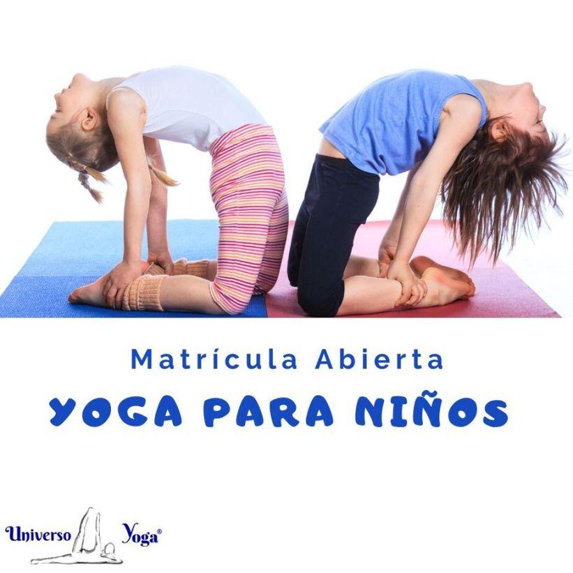 Clases de Yoga para niños en Universoyoga