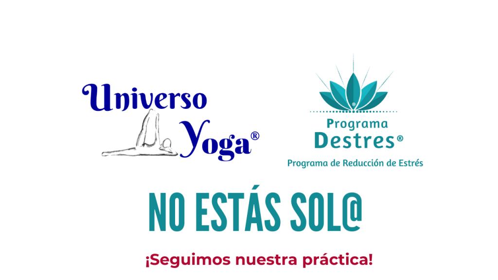 No estamos solos seguimos practicando yoga