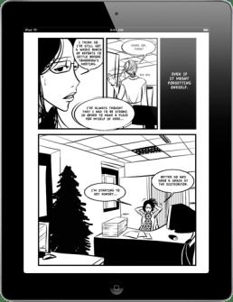 Workaholic - on iPad - 1 page