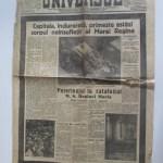 Ziarul Universul din 22-6-1938,cu funeraliile Reginei Maria