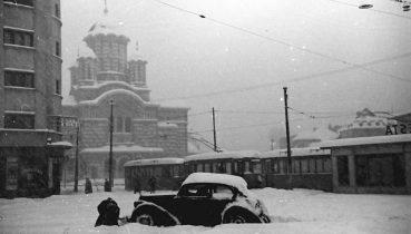 Iarnă în Bucureștiul interbelic 5