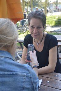 Susanne Spröer im Interview mit Kim Melina Hornickel