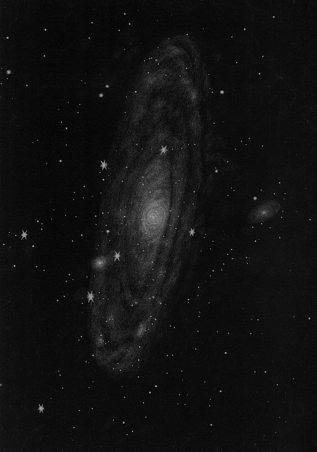 Messier 31 - 254mm - Dr. Johannes Schilling