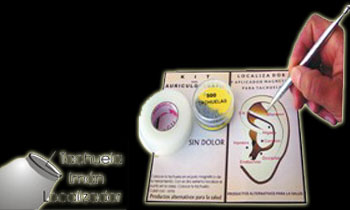 Kit de Auriculoterapia