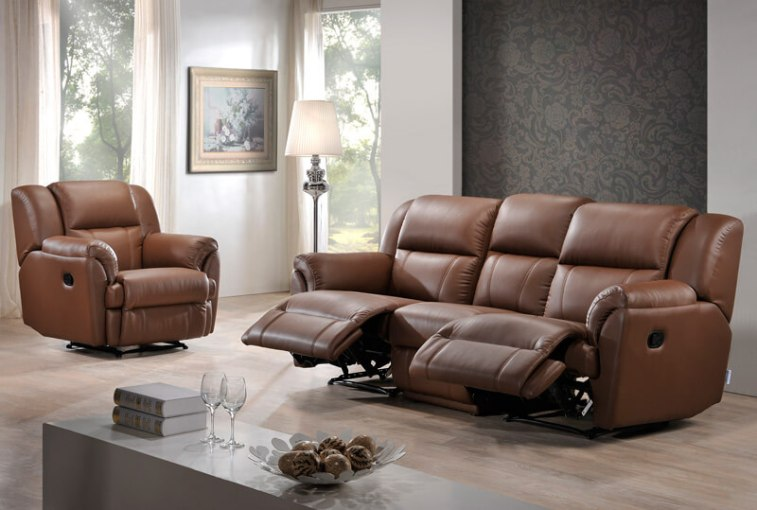 Jerry Recliner Sofa   Univonna The following item will be added to your cart