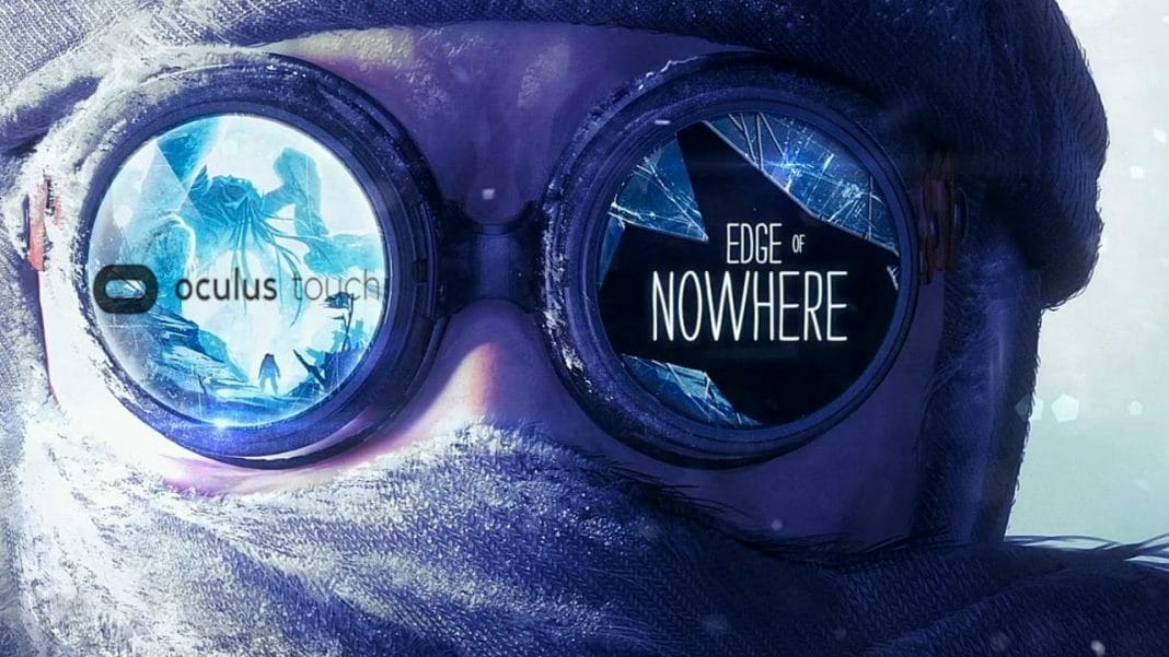 Edge of Nowhere VR touch