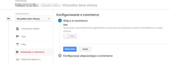 Śledzenie e-commerce