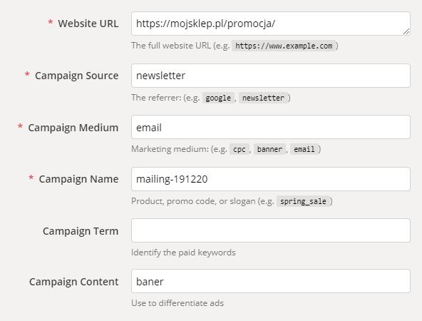 kreator adresów URL