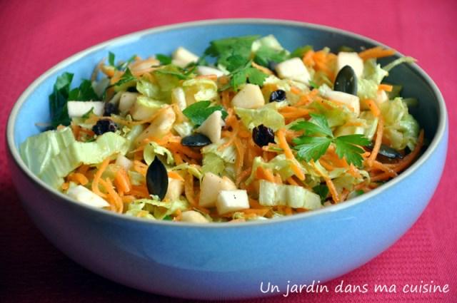 salade de chou chinois un ajrdin dans ma cuisine