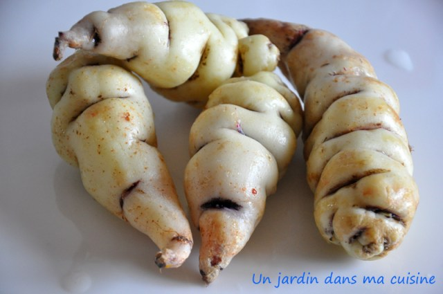 capucines tubéreuses carottes sautées  un jardin dans ma cuisine