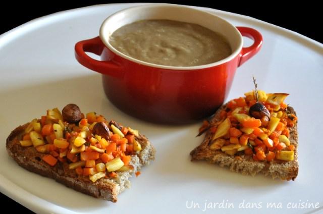 soupe de lentilles un jardin dans ma cuisine