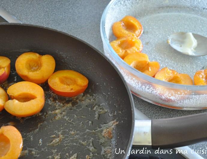 flan abricots