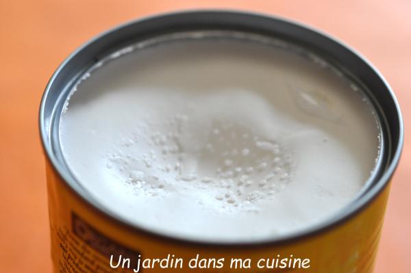 soupe petits pois frais chantilly au lait de coco