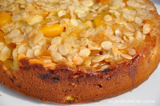 gâteau mirabelles amandes effilées - un jardin dans ma cuisine