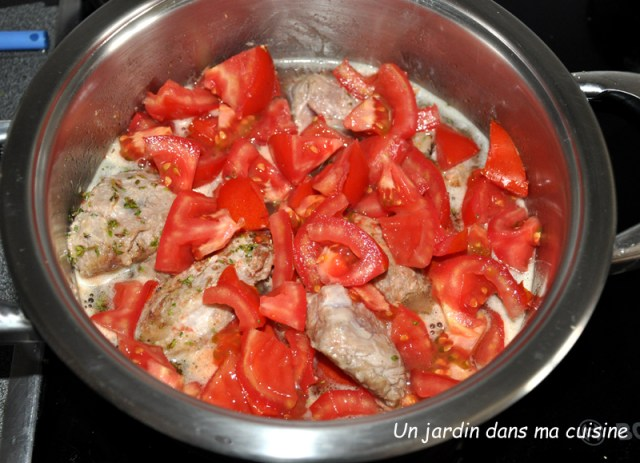 sauté de veau tomates carottes