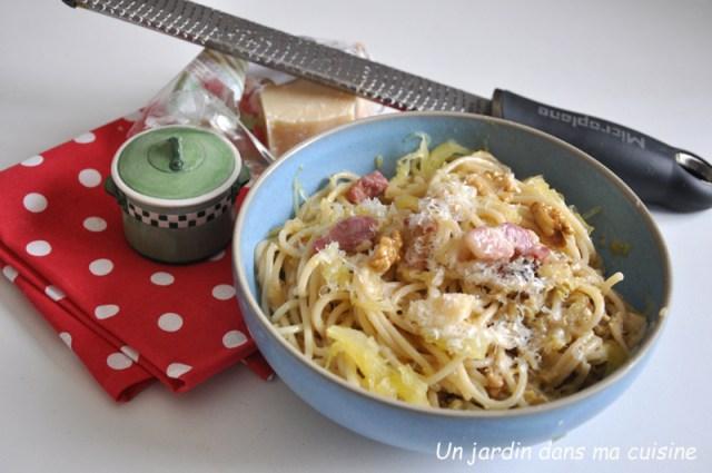 rencontre des deux spaghetti style carbonara