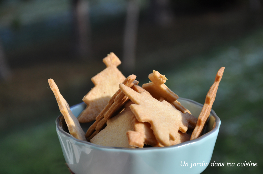 sablés amandes gingembre frais