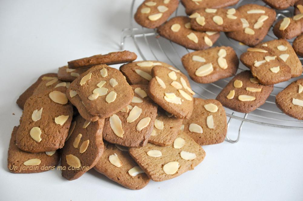biscuits muscovado amandes