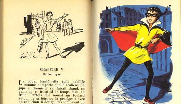 Extrait de Fantômette Source : lemag.rueducommerce.fr