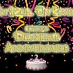 [Concours] Un Jour. Un Livre. fête ses deux ans !