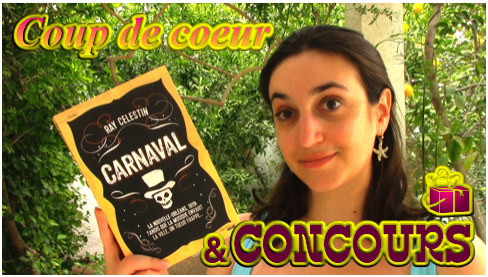 MissMymooReads - Chronique Carnaval concours cover