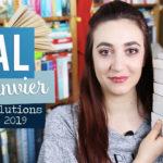 Résolutions livresques pour 2019 et PAL de Janvier